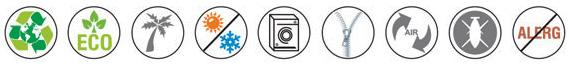 Матрак Sensus 3D Вентиласион - характеристики