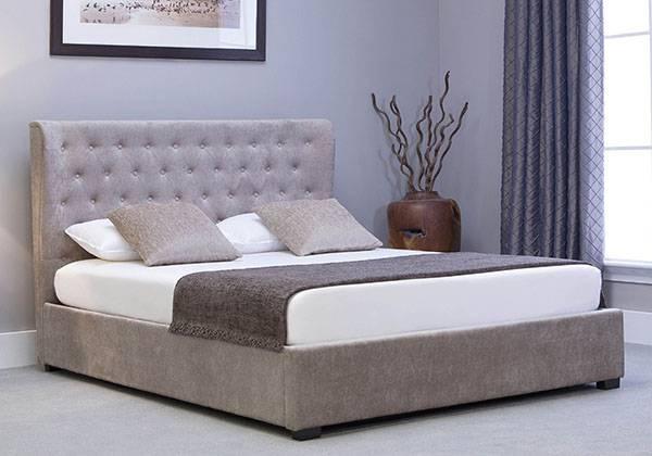 Тапицирано легло, тапицирана спалня с матрак и повдигащ механизъм