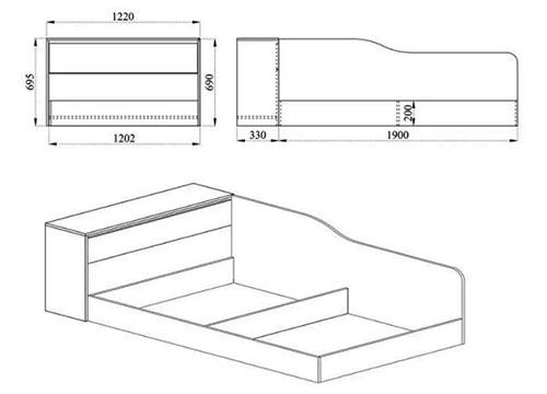 Легло с ракла 2002 - схема