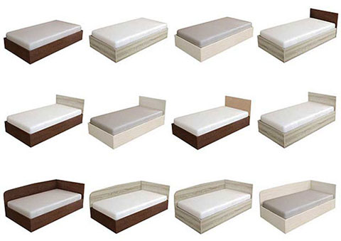 Легло Каса - варианти