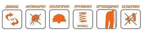 Еднолицев матрак Атина Коко Лукс - характеристики