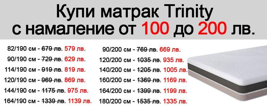 Матрак Trinity - промо 200 лв