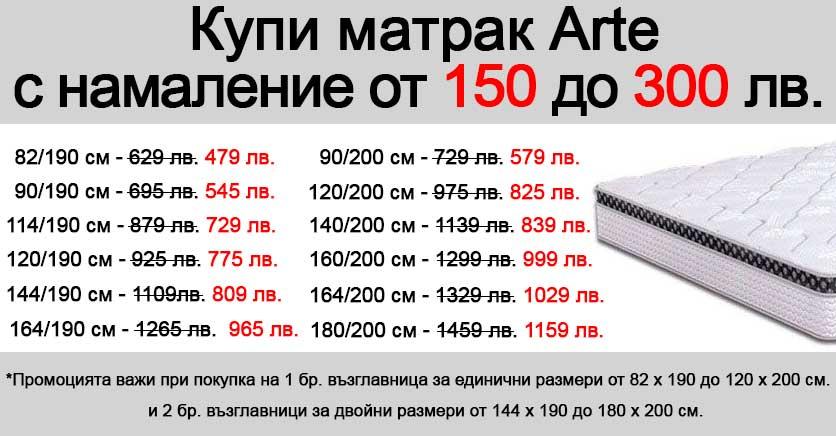 Матрак Arte - промо