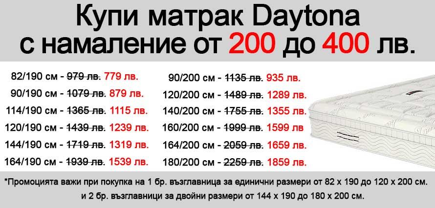 Матрак Daytona - промо