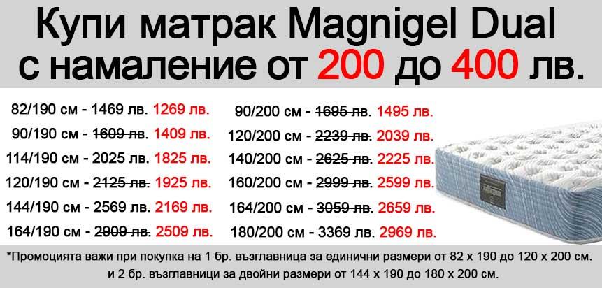 Матрак Magingel Dual