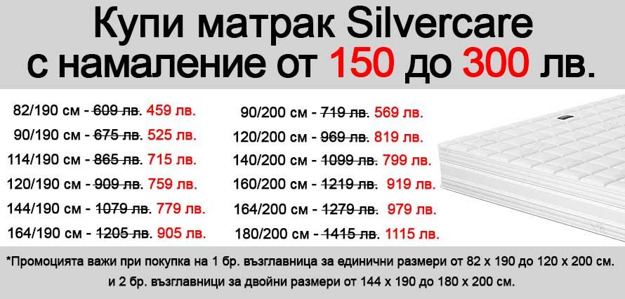 Матрак Silvercare - промо