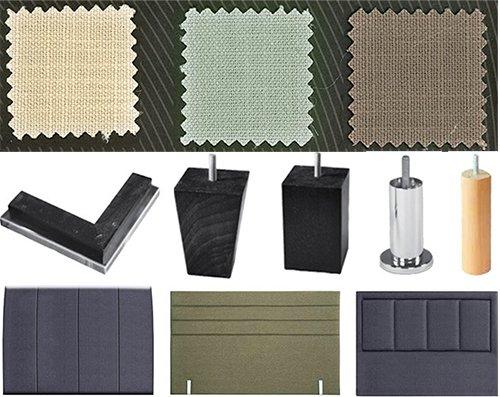 Крачета, дамаски и табли за легла ТЕД - матраци ТЕД