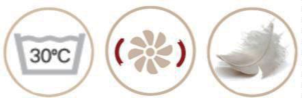 Хибридна възглавница с гъши пух - характеристики