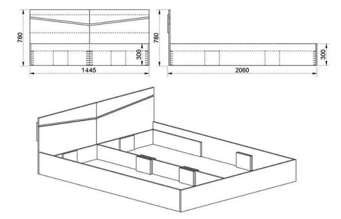Спалня Сити 2010 - схема