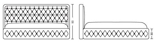 Спалня Салвадор - схема