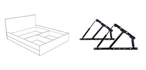 Спалня Спейс - схема