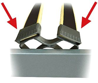 Подматрачна рамка Black Charm - вариант, опция Г - обувчици