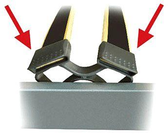 Подматрачна рамка Black Charm - вариант, опция к - схема