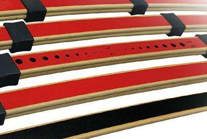 Подматрачна рамка Flex - Matic, вариант с дистанционно - ламели