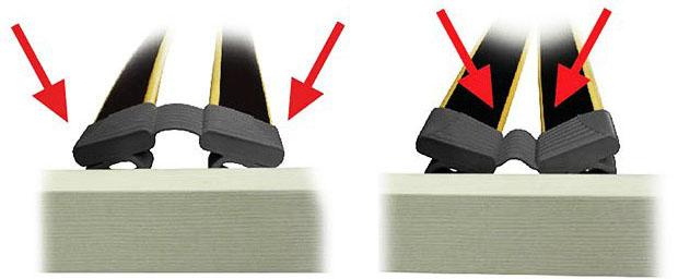 Подматрачна рамка Flex - опция К - обувчици