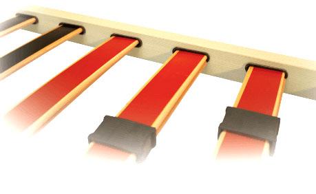 Подматрачна рамка Стандарт - вариант - ламели