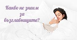 Какво не знаем за възглавниците
