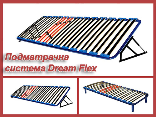 Подматрачни рамки Росмари - система Dream Flex