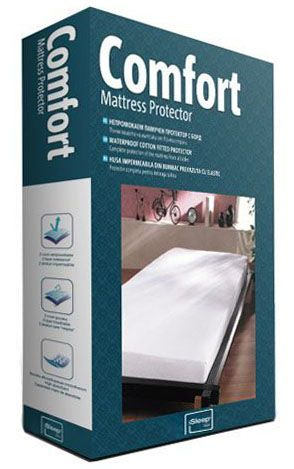 Непромокаем протектор за матрак Comfort с борд - опаковка