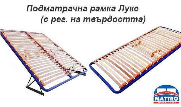 Подматрачна  рамка Лукс с регулиране на твърдостта - Mattro